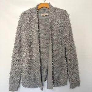 LOFT Sweaters - Ann Taylor loft boucle Open knit cardigan